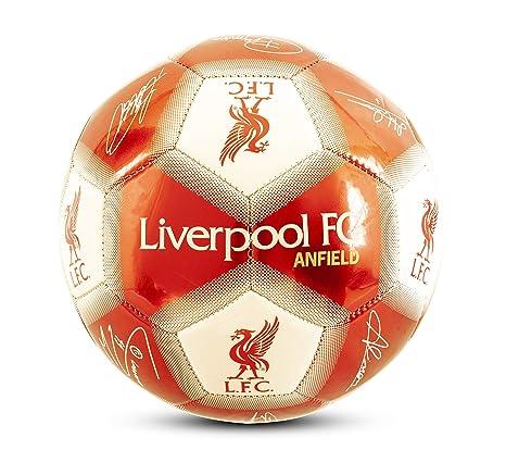 Liverpool F.C. Unisex-Youth LI06081 - Balón de fútbol, Talla 1 ...