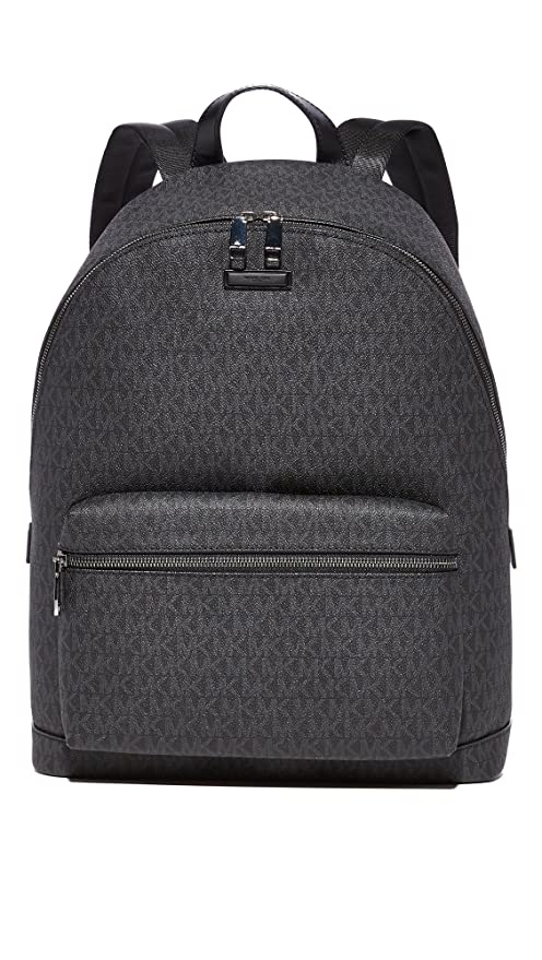 246686304d24 Michael Kors Men's Jet Set Backpack, Black, One Size: Amazon.co.uk: Luggage