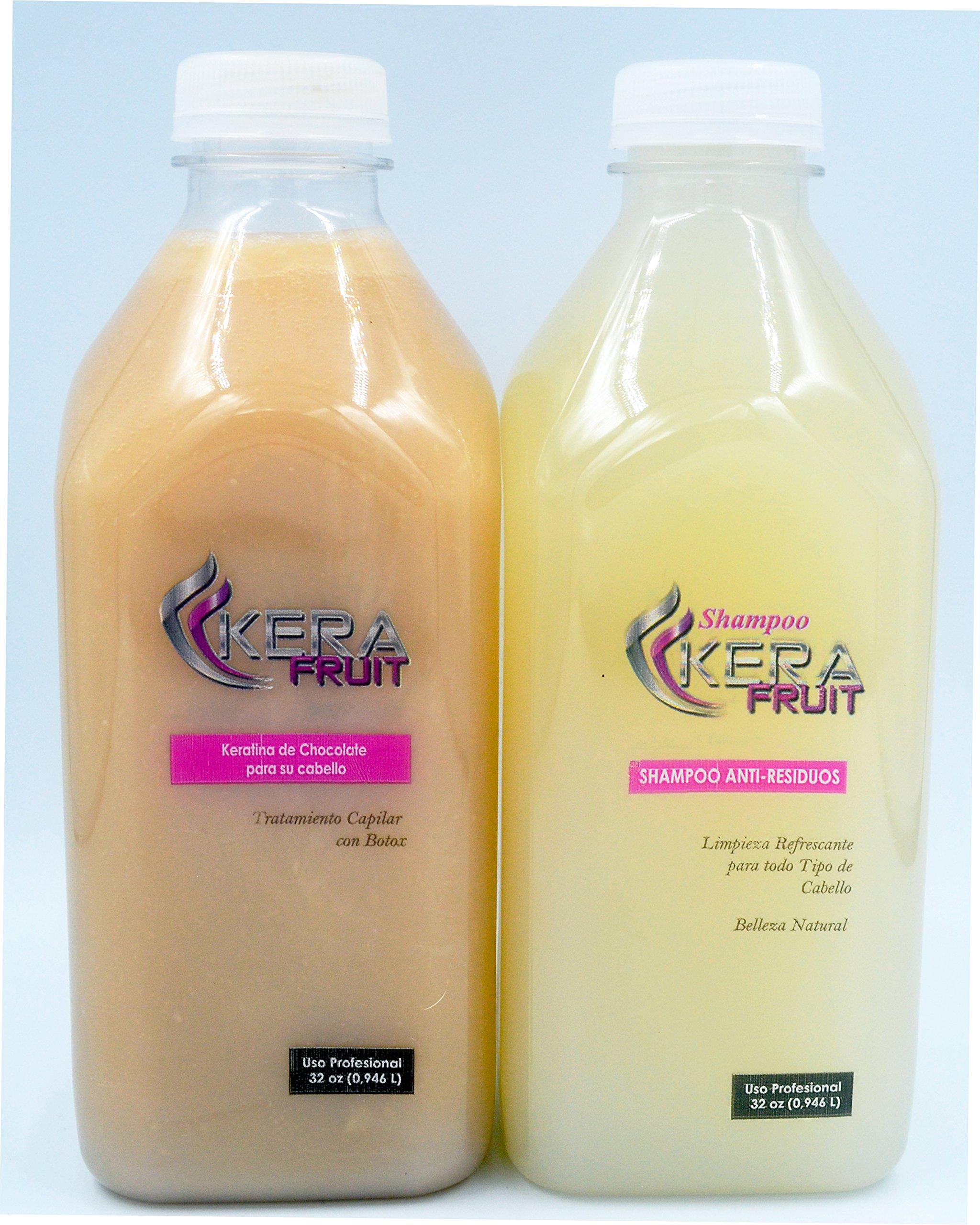 Complex Brazilian Keratin Hair Treatment Professional Combo (Treatment + Shampoo) 32 oz or 1000 ml Elimina el Frizz Formula Original