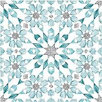 WallPops FP2949 Radiance - Azulejos de suelo autoadhesivos