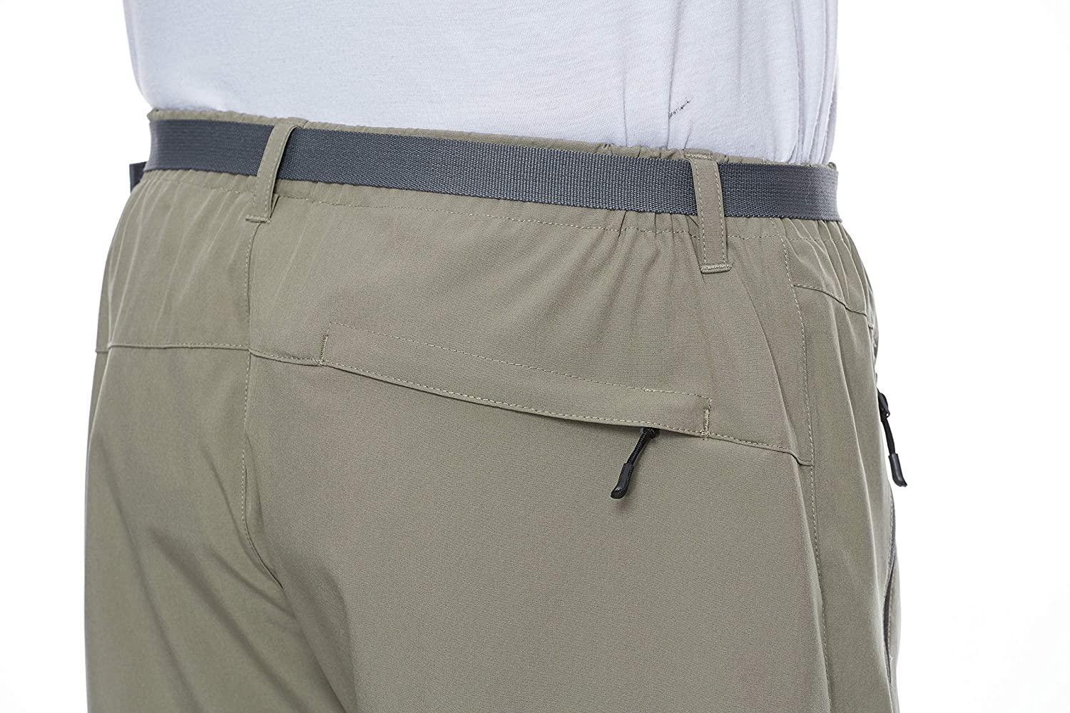 Camping Travel Little Donkey Andy Mens Stretch Quick Dry Cargo Shorts for Hiking