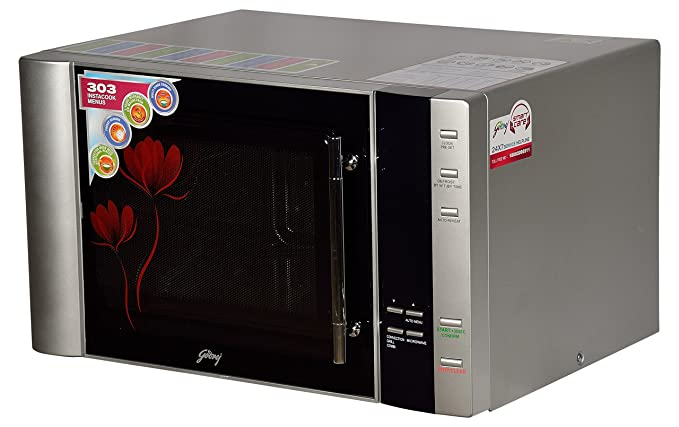 Godrej 30 L Convection Microwave Oven (InstaCook GMX 30 CA1 SIM, Silver)