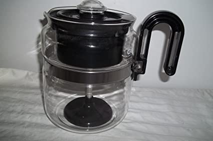 Gemco Brand Glass Coffee Pot with Plastic Interior