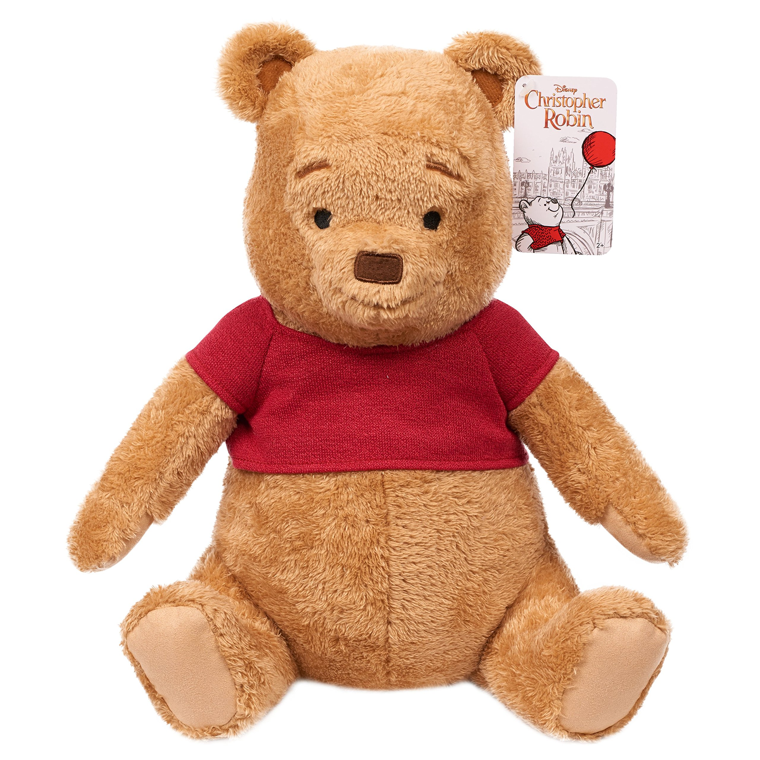 Christopher Robins Live Action 14'' Large Pooh Plush, Yellow