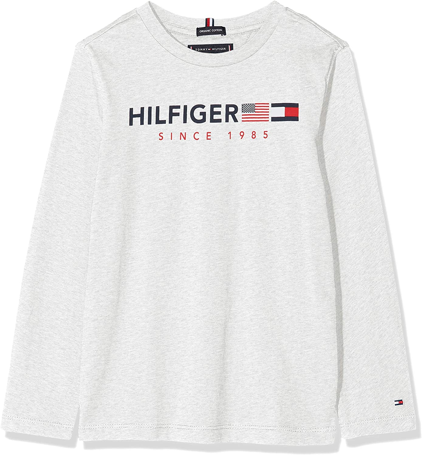 Tommy Hilfiger Flags Graphic tee L//S Camiseta para Ni/ños