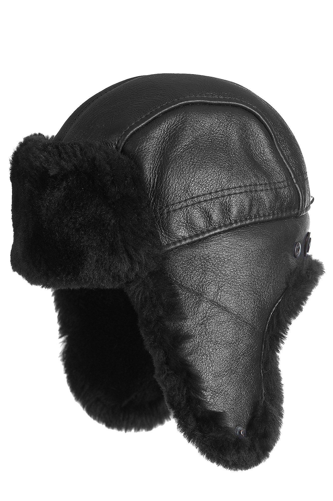 Overland Sheepskin Co Shearling Sheepskin Trapper Hat