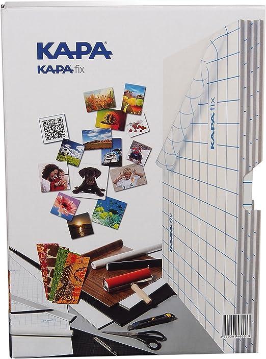 Kapa Fix - Caja con 8 placas de material ligero (DIN A4 ...