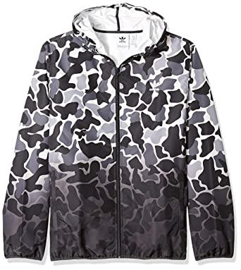 a4edc4ee6649b adidas Originals Men's Camo Dipped Windbreaker at Amazon Men's Clothing  store:
