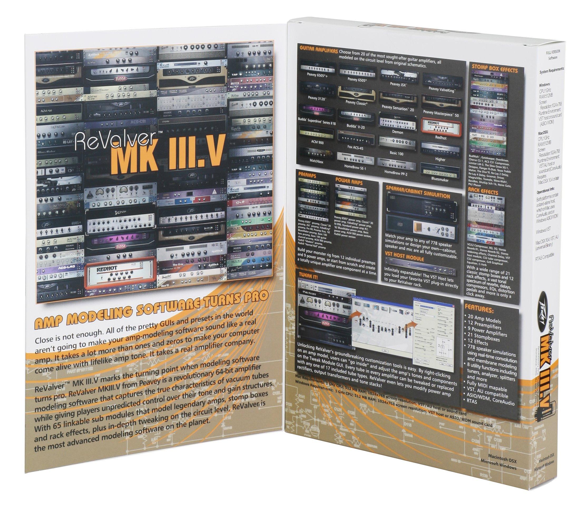 Peavey ReValver MK III Amp Modleing Software by Peavey