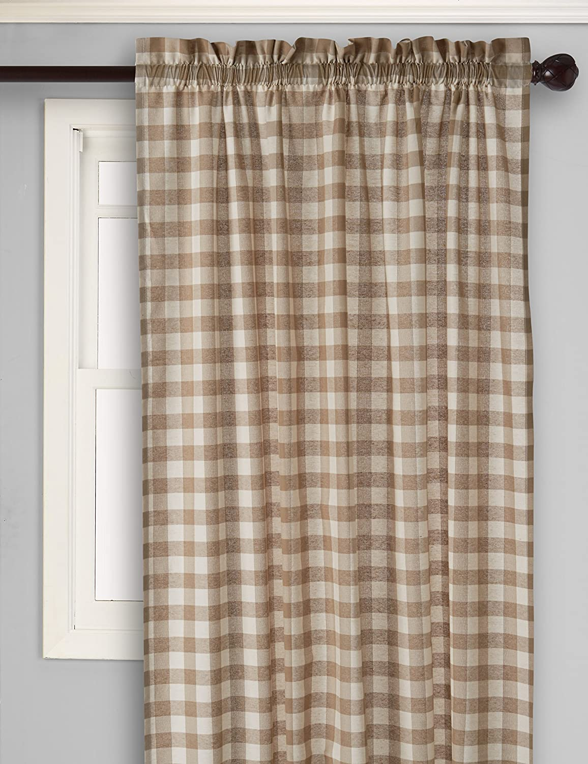 100 Beige U0026 Tan Tier Curtains Meridian