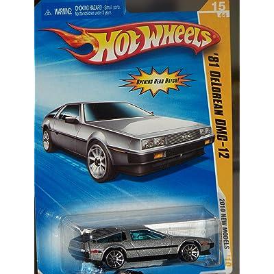 Hot Wheels Delorean DMC-12 2010 New Models 81 Delorean DMC-12 First Edition 1:64 Scale Collectible Die Cast Car #15: Toys & Games