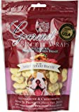 Loving Pets All Natural Premium Sweet Potato Biscuit and Chicken Wraps with Glucosamine and Chondroitin Dog Treats, 8 oz