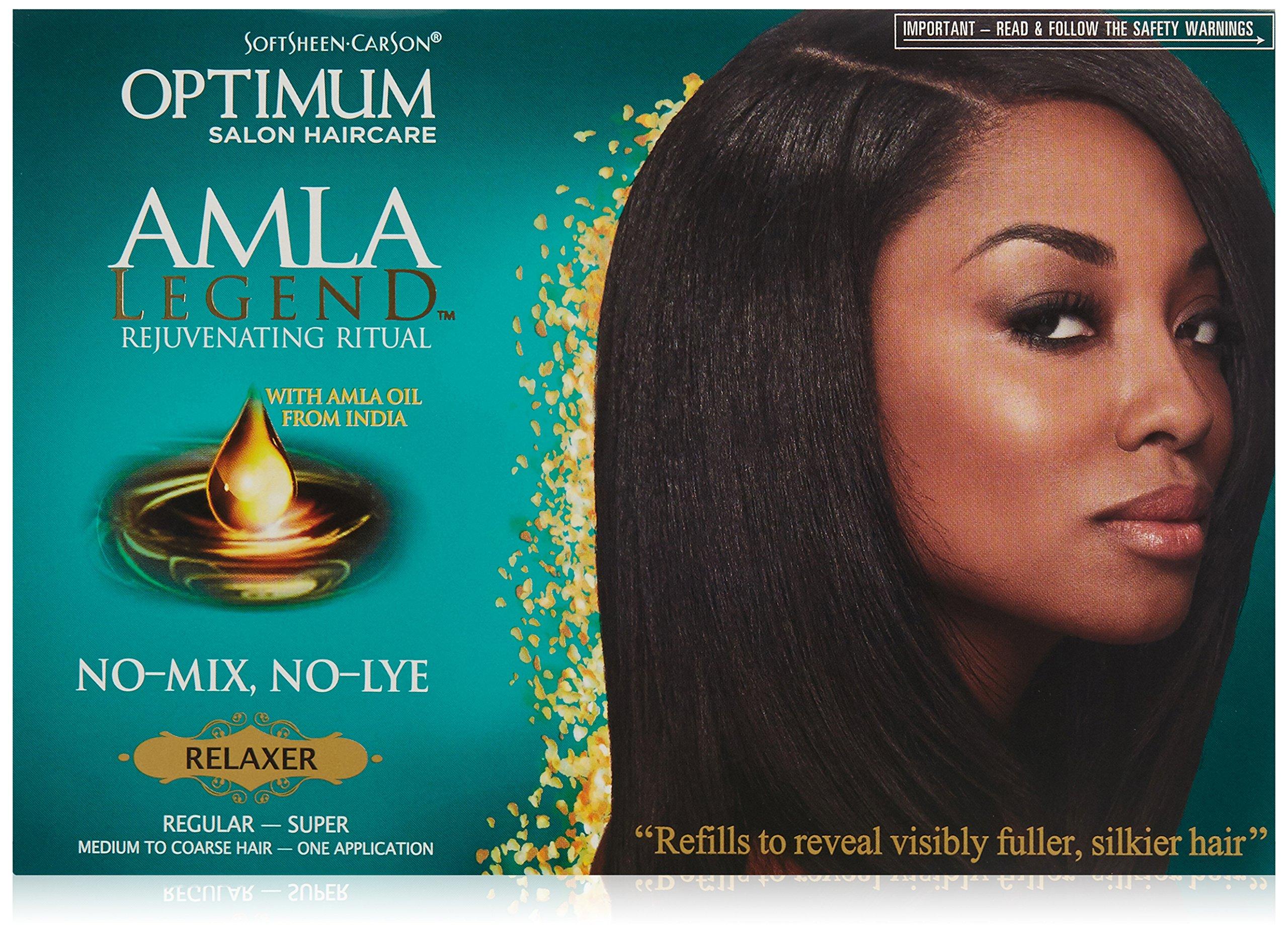 Softsheen Carson Optimum Amla Legend Relaxer Kit