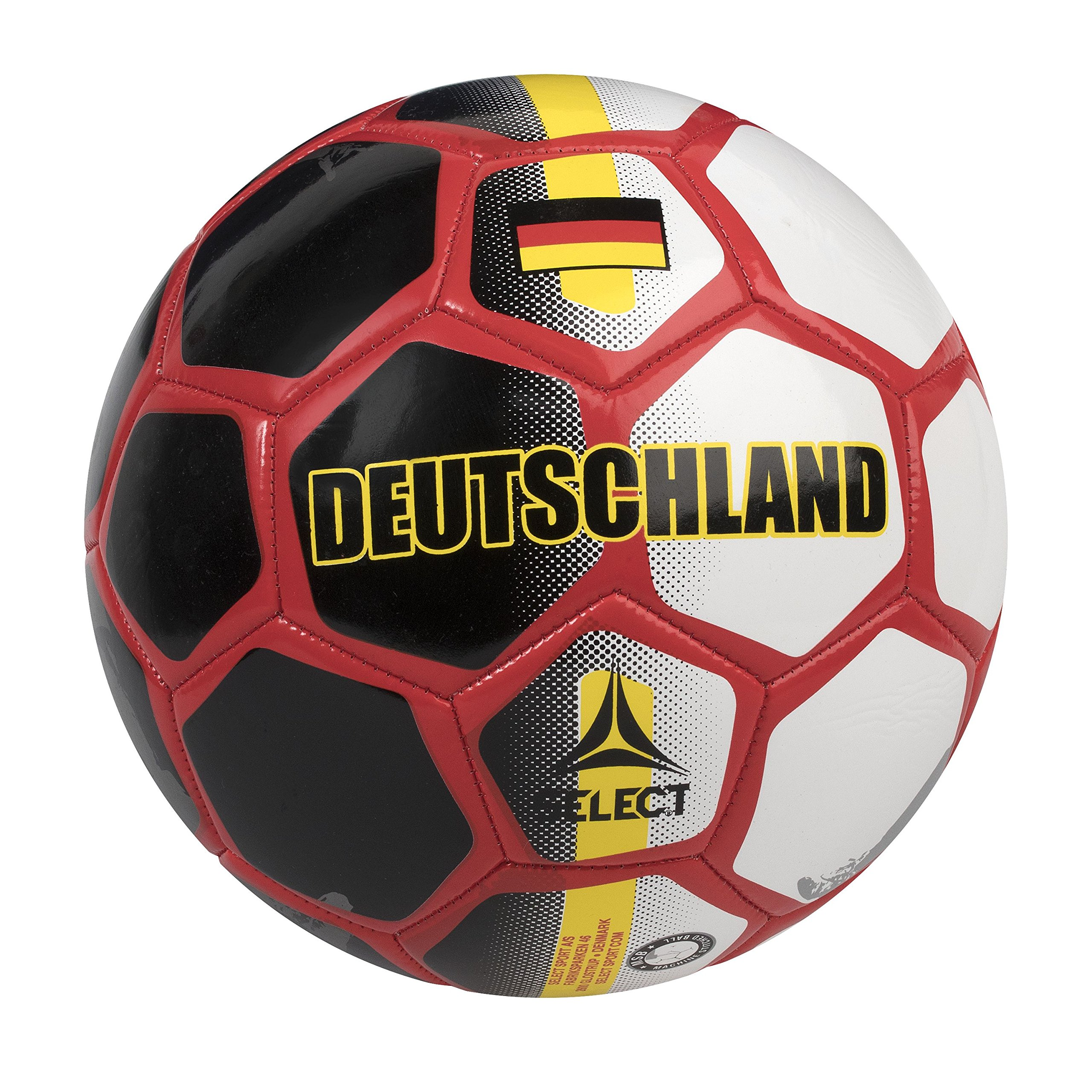 SELECT Deutschland World Cup Country Soccer Ball - Skills Ball - 47 cm