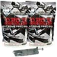 MetalTac Airsoft BBS .20g 10000 Rounds Match Grade BB Pellet, Plastic 0.20 Gram 6mm for Airsoft Guns Ammo