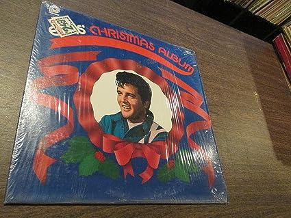 Elvis Christmas Album Vinyl.Elvis Christmas Album Vinyl Lp Amazon Com Music