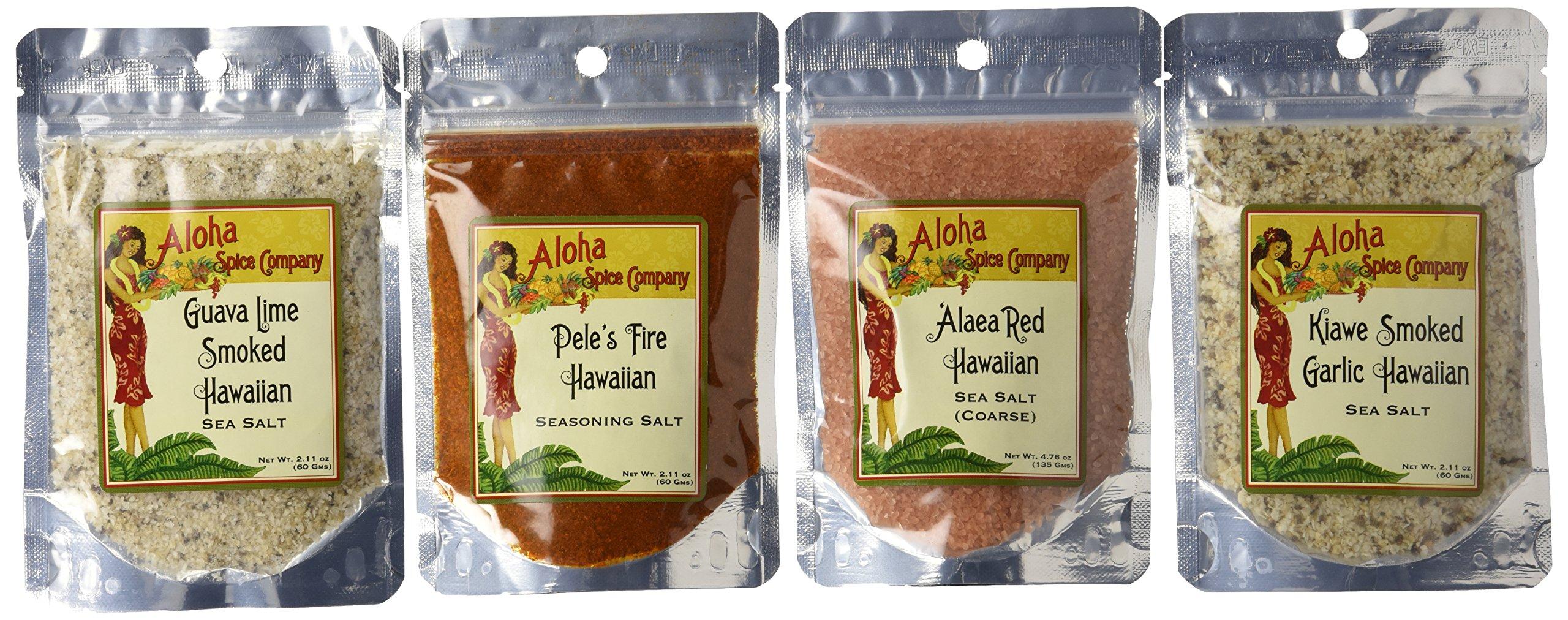 Aloha Spice Gourmet Salt Set