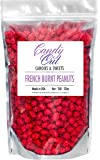 CandyOut French Burnt Peanuts (2lb - 32oz) in sealed stand-up pouch bag