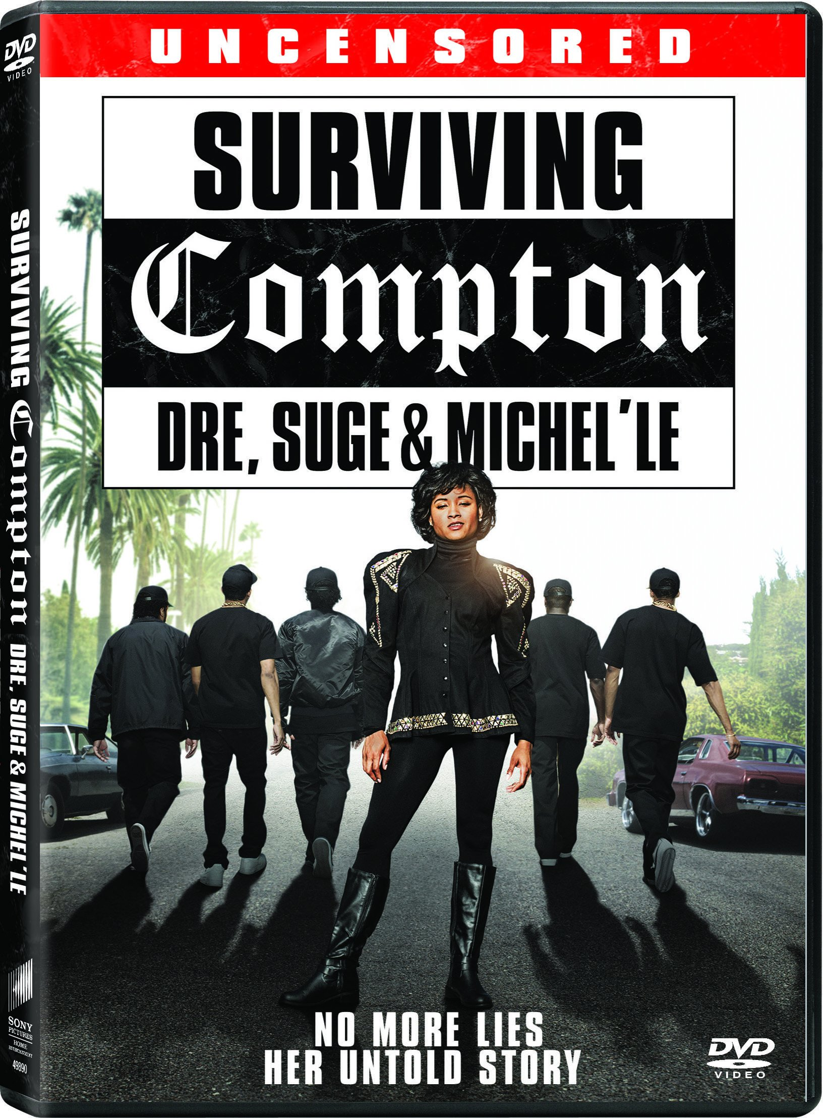 DVD : Surviving Compton: Dre, Suge And Michelle (Dolby, AC-3, Widescreen, Subtitled)