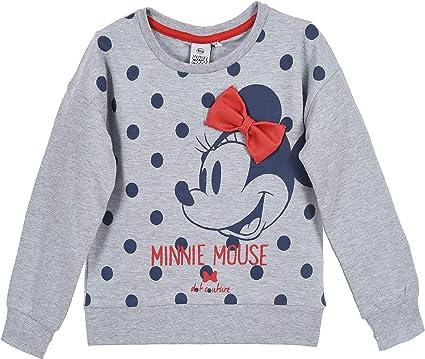 Disney Girls Minnie Mouse Vintage Bow Hoodie