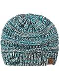 C.C Trendy Warm Chunky Soft Stretch Cable Knit Beanie Skully