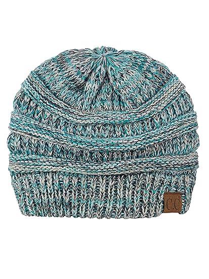 931fae862 CC Trendy Warm Chunky Soft Stretch Cable Knit Beanie Skully
