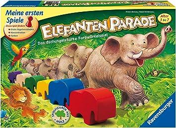 Ravensburger 21421 Elefantenparade - Juego de Mesa de Elefantes [Importado de Alemania]: Amazon.es: Juguetes y juegos