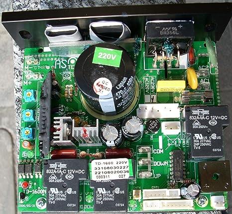 Circuit Imprime Pour Controle Moteur Tapis Roulant Tapis De Course