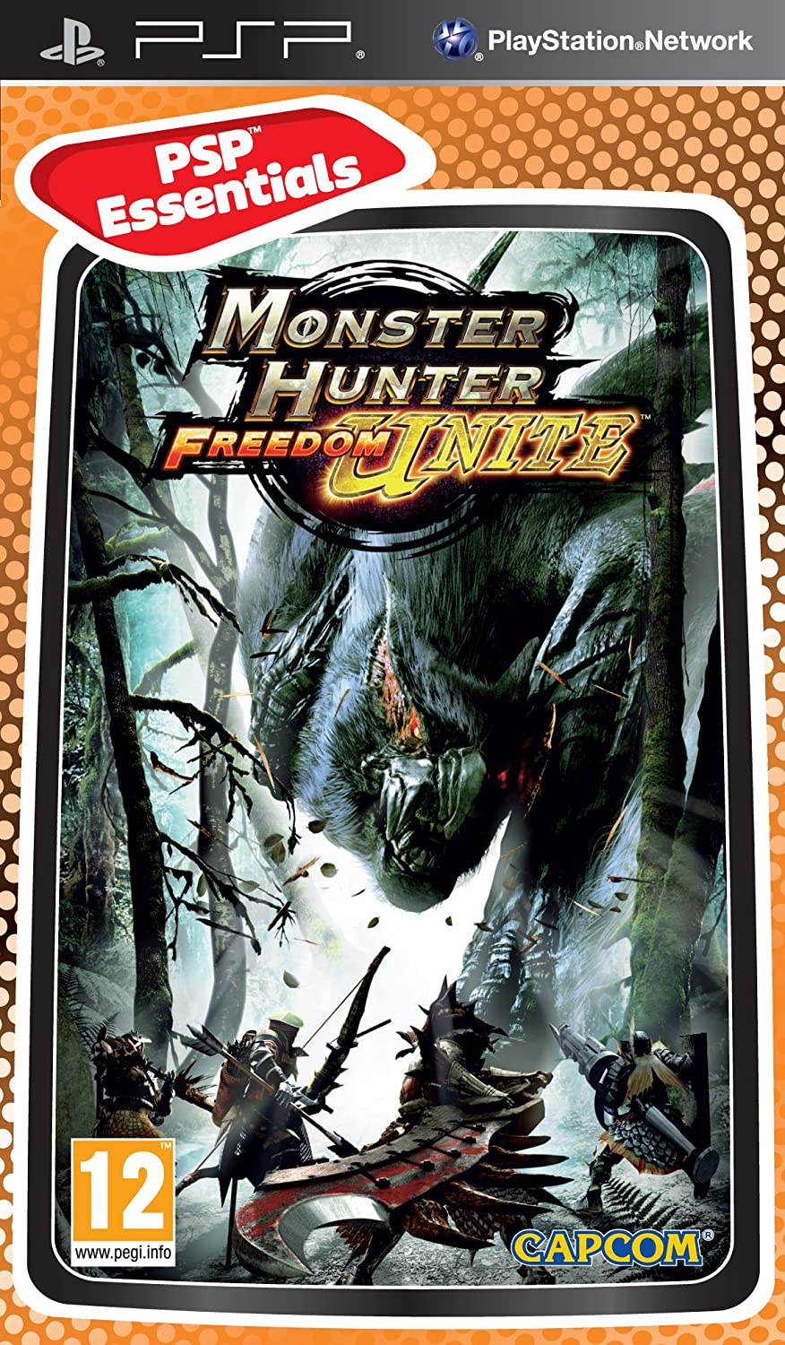 Monster Hunter Freedom Unite - Essentials (PSP) [Importación inglesa]: Amazon.es: Videojuegos