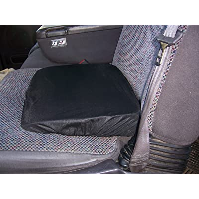 WEDGE SEAT CUSHION Slanted Ortho Black (Made in The U.S.A.): Automotive