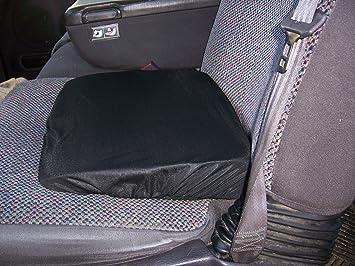 WEDGE SEAT CUSHION Slanted Ortho Black (Made in The USA)