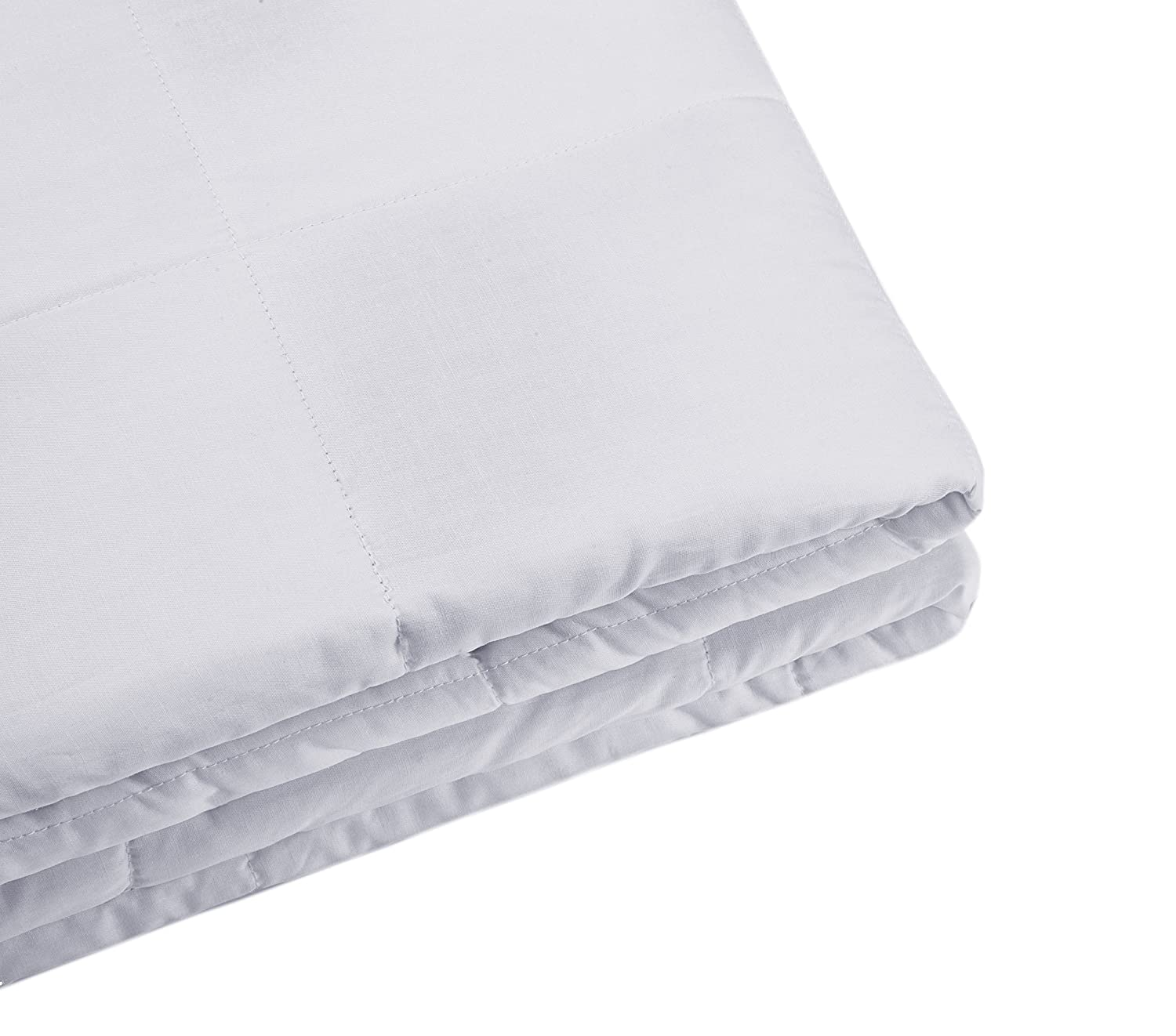 60 x 80 15lbs DreaCom Weighted Blanket for Adults /& Teens Upgrade Heavy Blanket Natural Cotton with Glass Beads Fall Asleep Faster