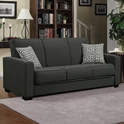 Amazon.com: Contemporary Sleeper Sofa - Convertible ...