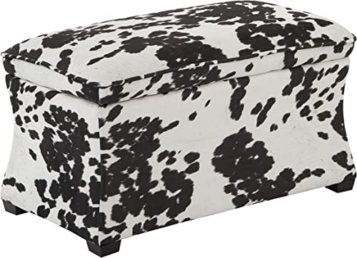 Ave Six Hourglass Storage Ottoman, Udder Madness