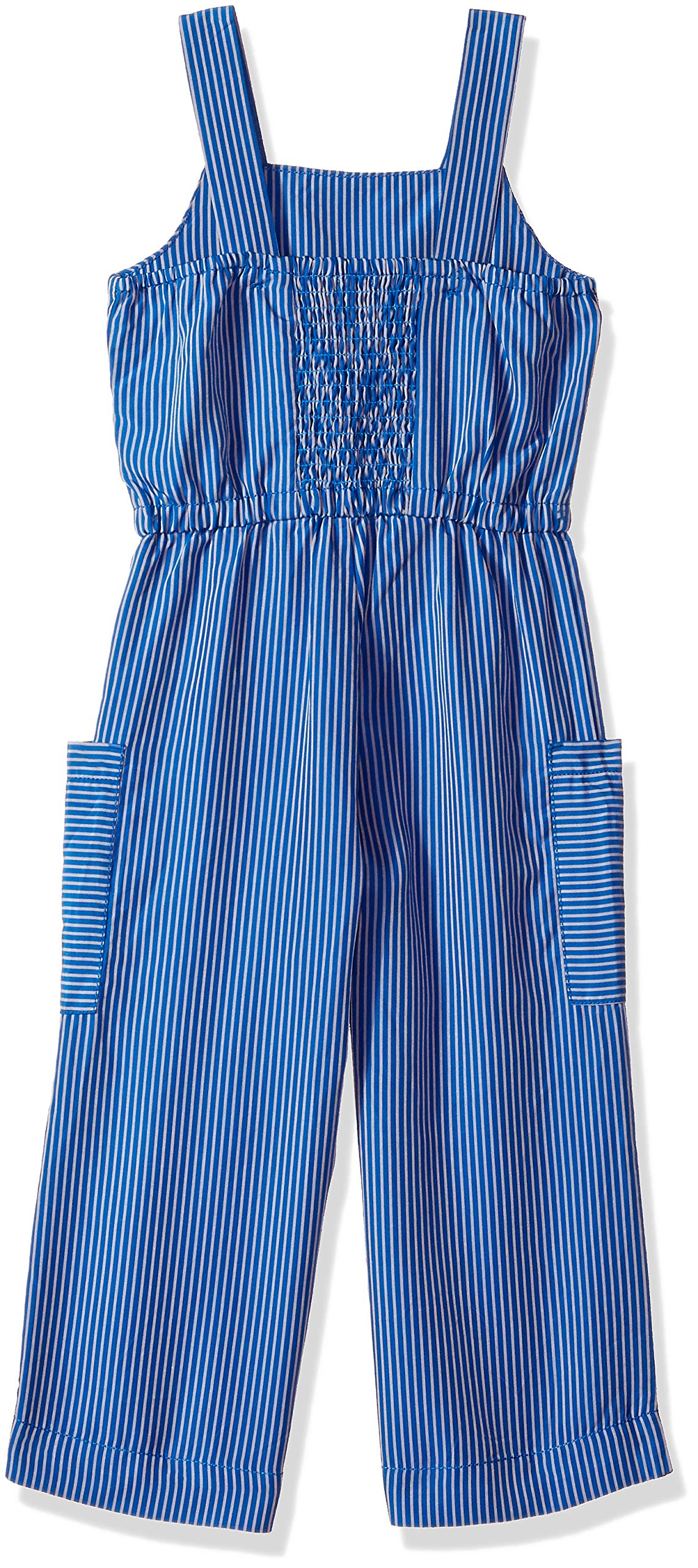 Gymboree Girls' Big Casual Knit Romper, Electric Blue, 5 by Gymboree (Image #2)