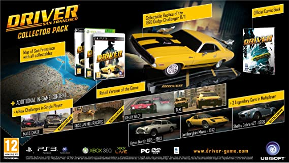 Driver San Francisco Collector S Edition Xbox 360 Amazon Co Uk Pc Video Games