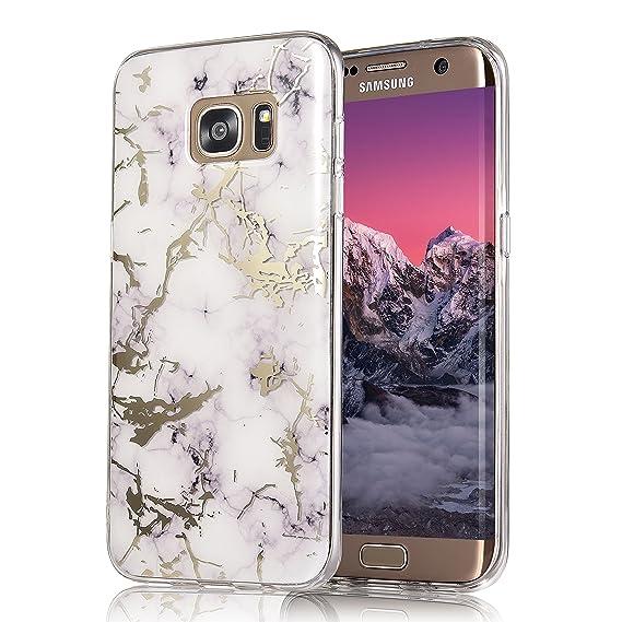 huge discount 04a1c a8cb5 Galaxy S7 Edge Case, COSANO Premium Quality [UV print Semi-transparent  Case] for Samsung Galaxy S7 Edge (5.5 inch) Scratch Resistant  Shock-Absorbing ...