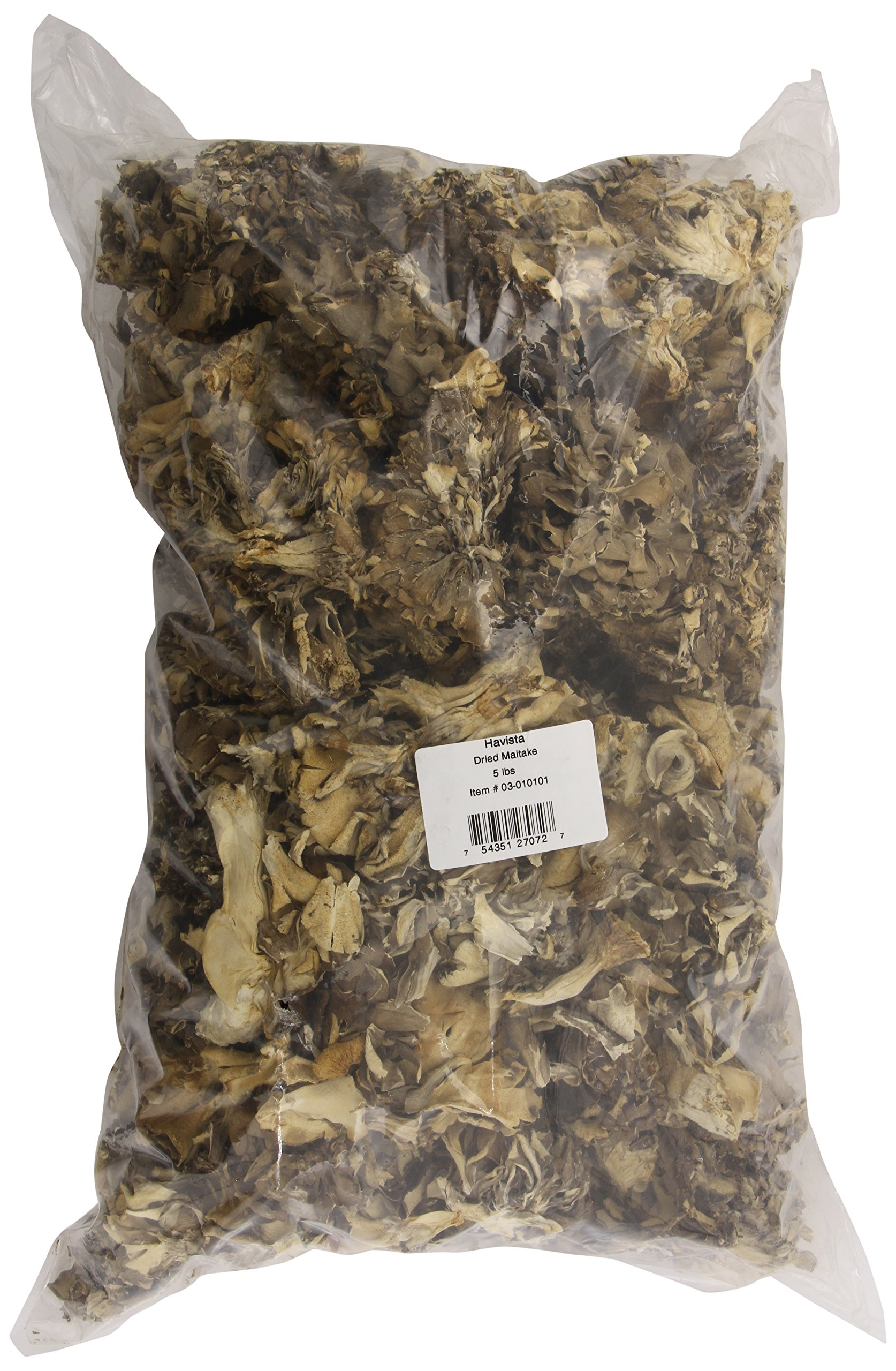 Havista Dried Maitake Mushrooms, 5 Pound by Havista