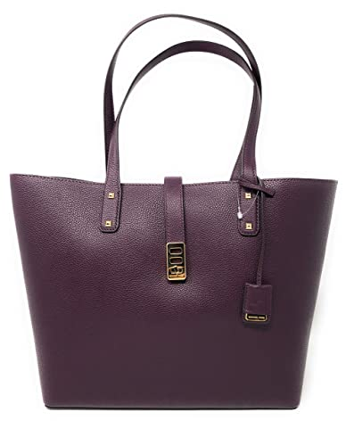 01b80af3756e Michael Kors Karson Large Carryall Leather Tote Bag: Amazon.co.uk: Shoes &  Bags