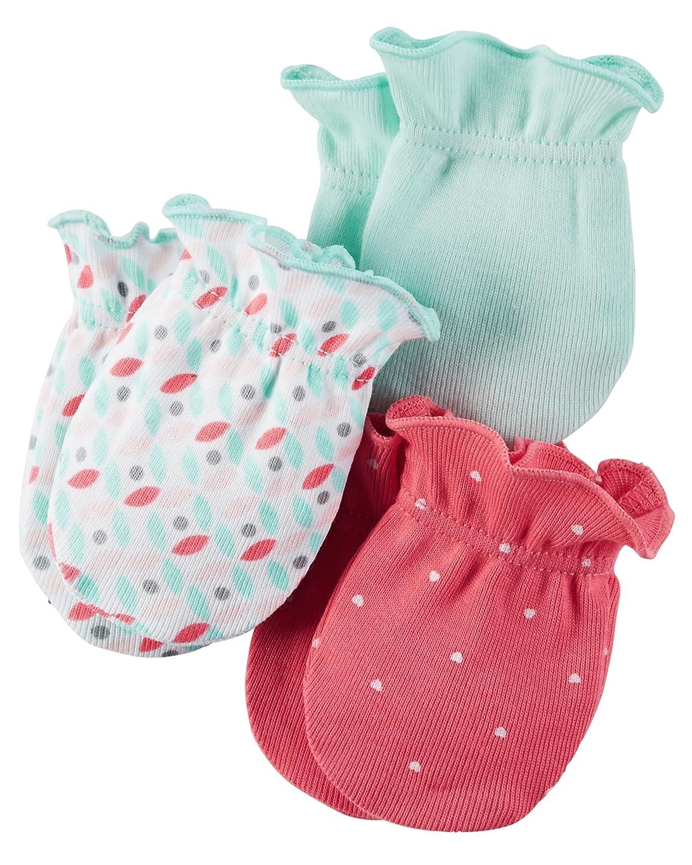 Carters Unisex Baby Mittens (Baby) - Geo/Polka- 0-3M carter' s