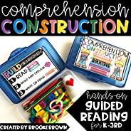 COMPREHENSION CONSTRUCTION™ - PRINTABLE GUIDED READING TOOLKITS FOR K-3rd Grade