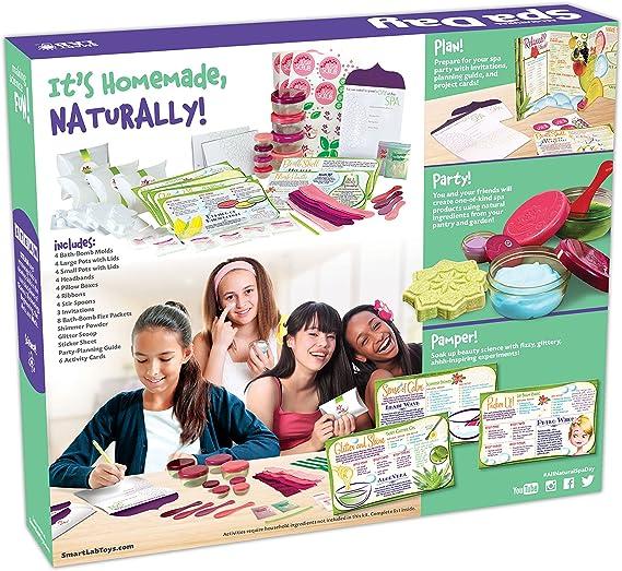 Amazon.com: Juego Día de spa todo natural SmartLab ...