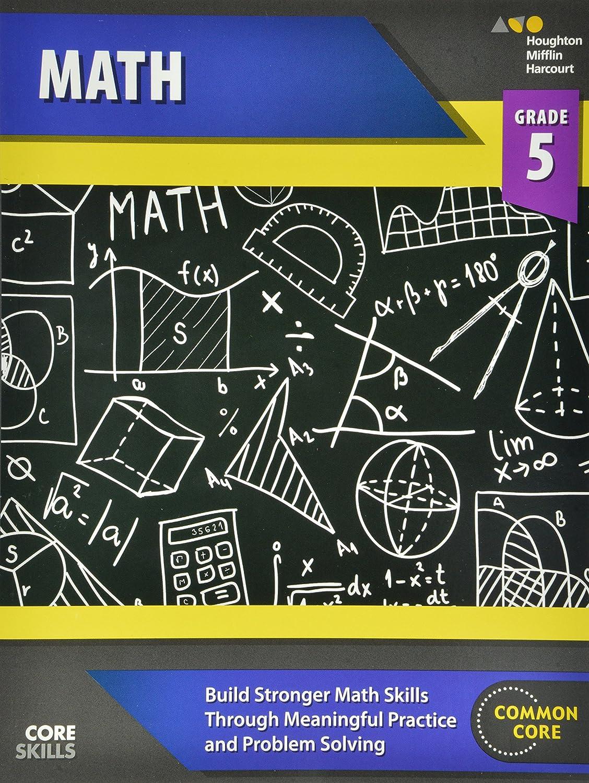 Workbooks harcourt math practice workbook grade 5 answers : Steck-Vaughn Core Skills Mathematics: Workbook Grade 5: STECK ...