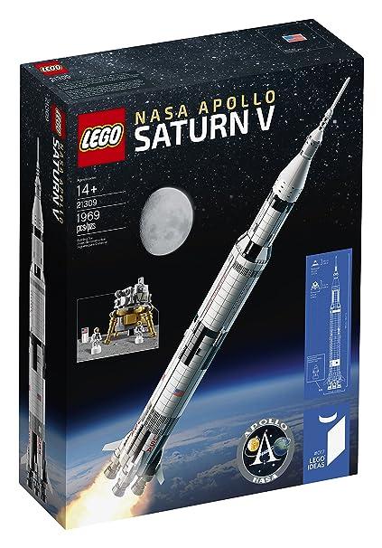 Amazon lego ideas nasa apollo saturn v 21309 building kit toys lego ideas nasa apollo saturn v 21309 building kit solutioingenieria Choice Image