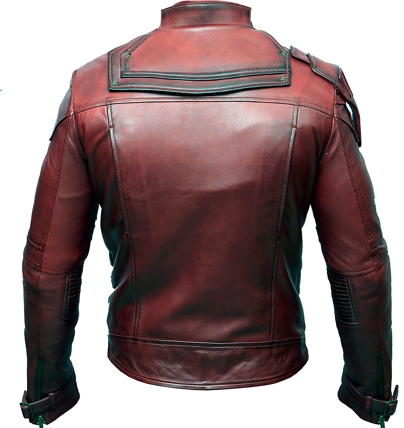 Guardians of The Galaxy Vol 2 Peter Jason Quill Star Lord Real Leather Jacket
