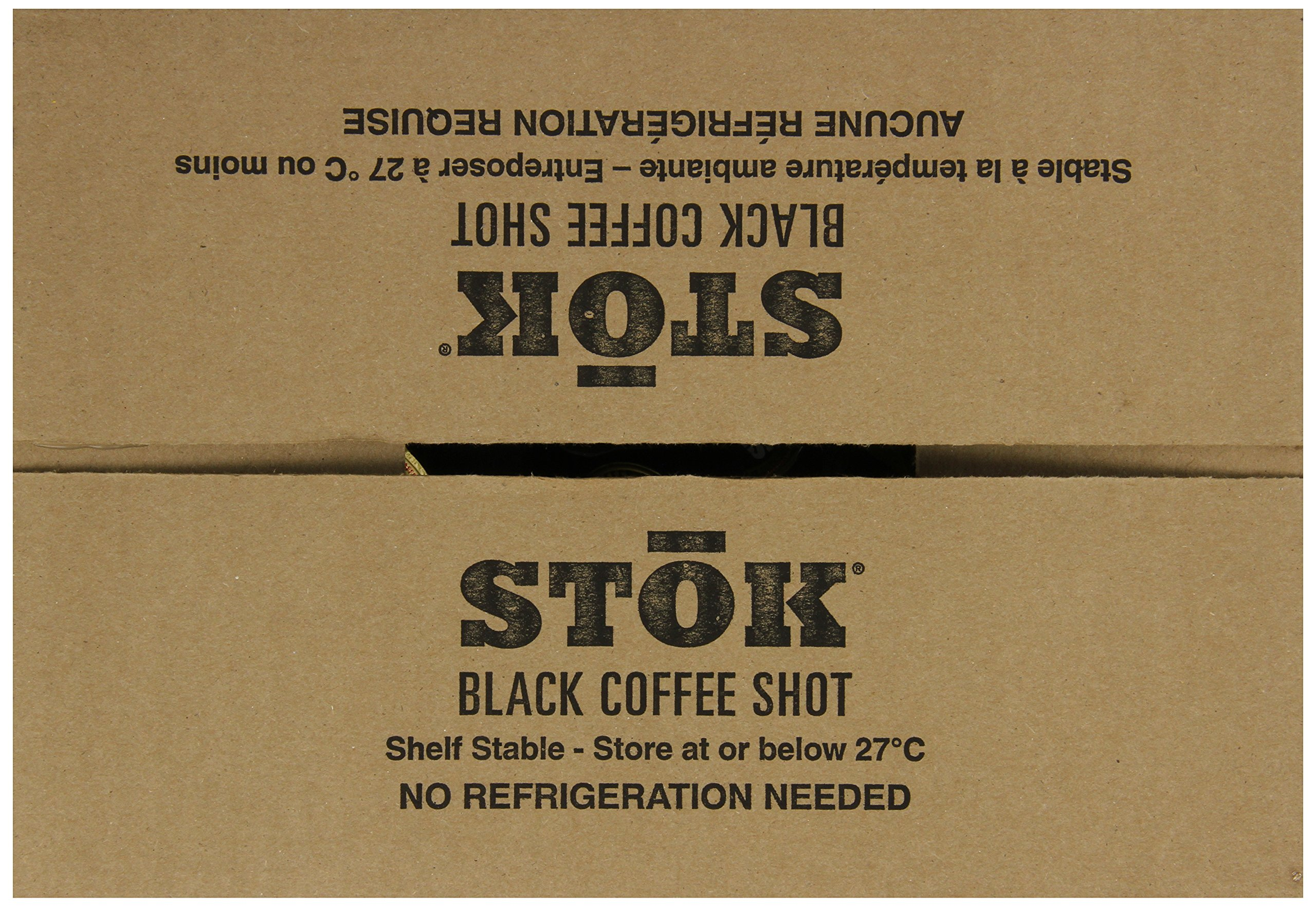 SToK Caffeinated Black Coffee Shots, 264 Single-Serving Shots, Single-Serve Shot of Unsweetened Coffee, Add to Coffee for Extra Caffeine, 40mg Caffeine (Packaging May vary) by SToK (Image #10)