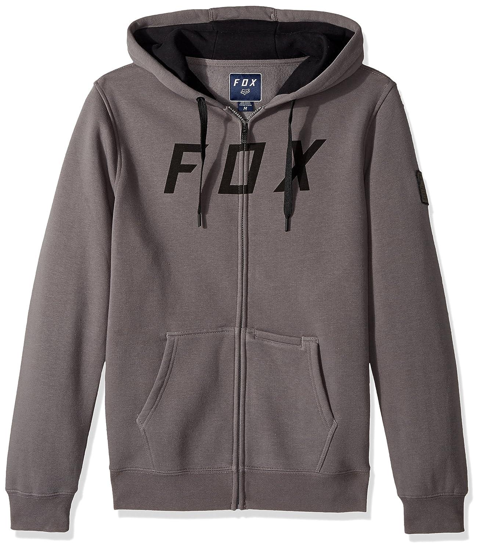 Fox Fleece Zip Hoody District 2 Grigio Fox Fleece Zip Hoody District 2Grigio