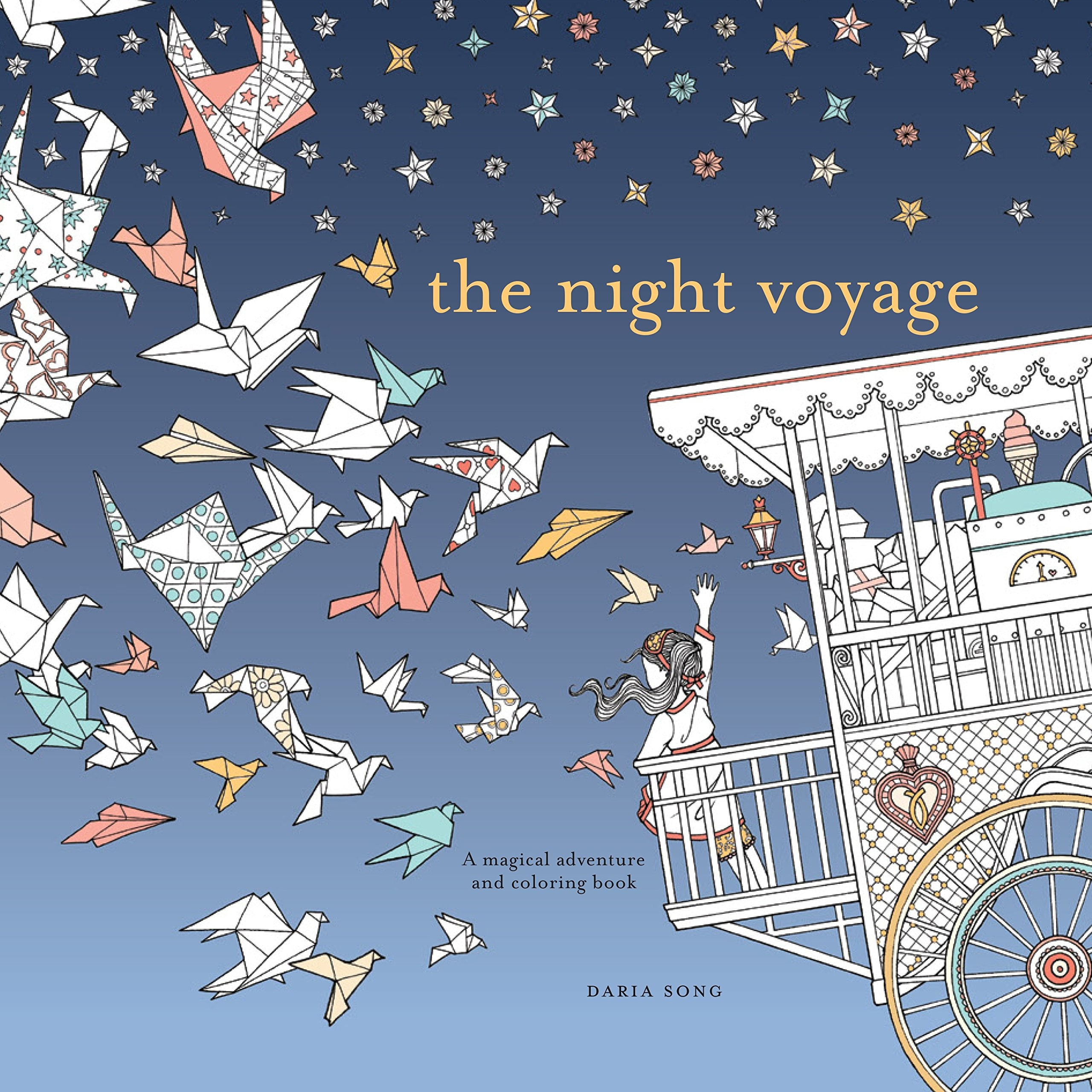Night Voyage Magical Adventure Coloring product image