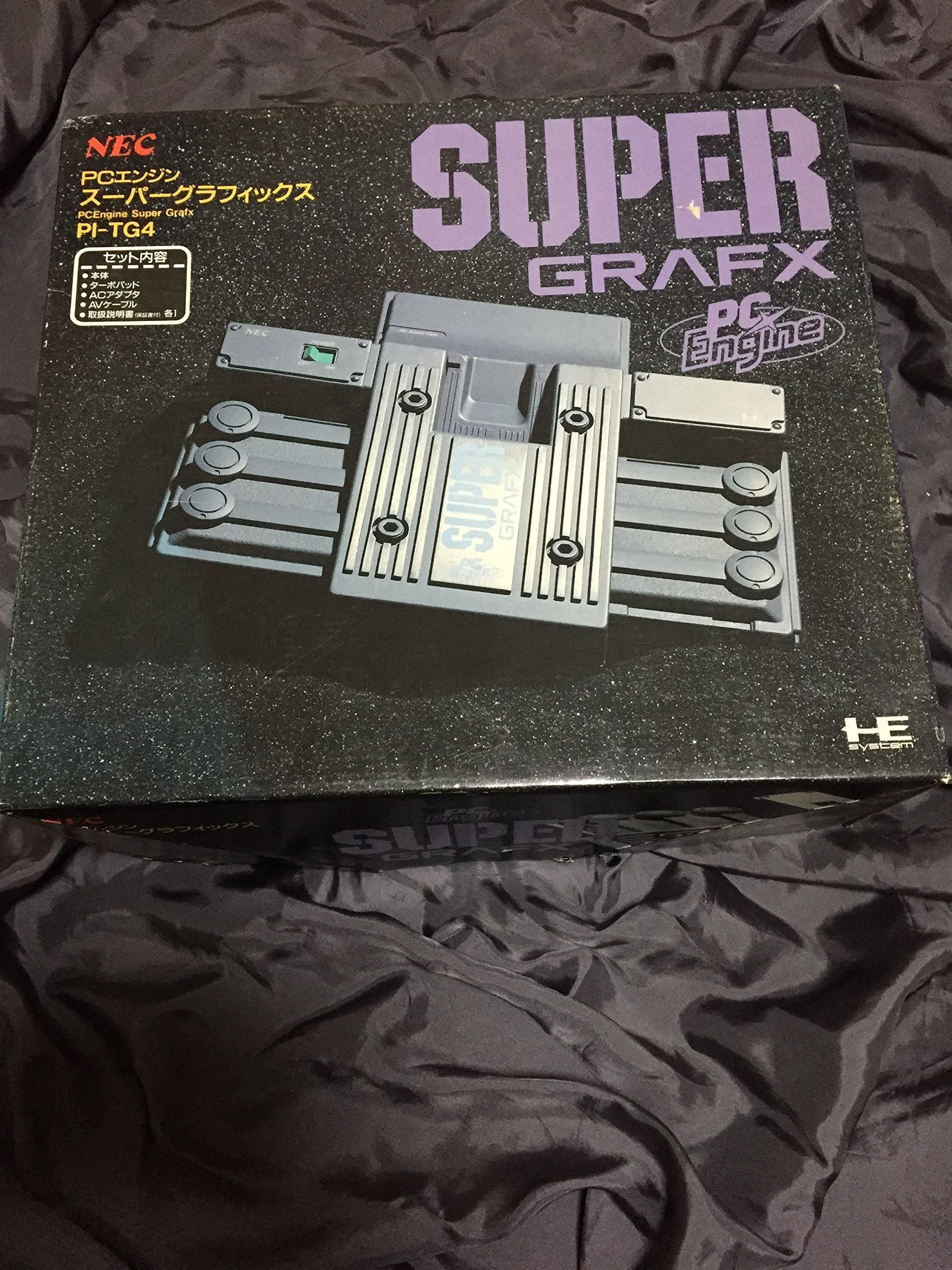 Amazon com: PC Engine SuperGrafx: Video Games