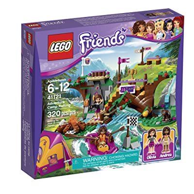 LEGO Friends Adventure Camp Rafting 41121: Toys & Games